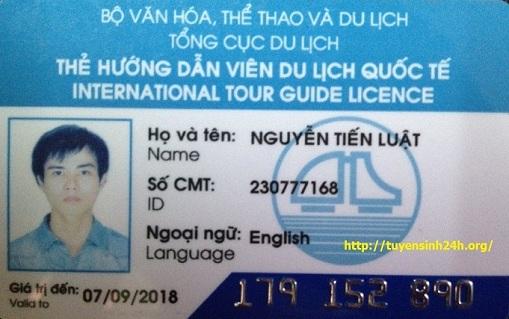 thẻ hướng dẫn viên du lịch quốc tế