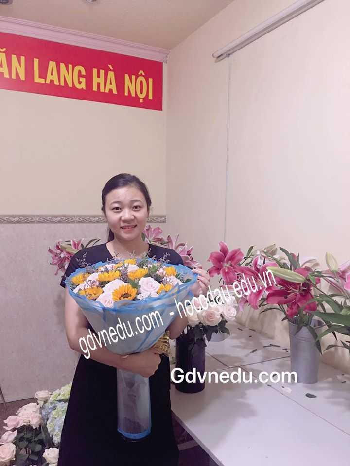 HỌC CẮM HOA TƯƠI CHUYÊN NGHIỆP MỞ SHOP KINH DOANH 06